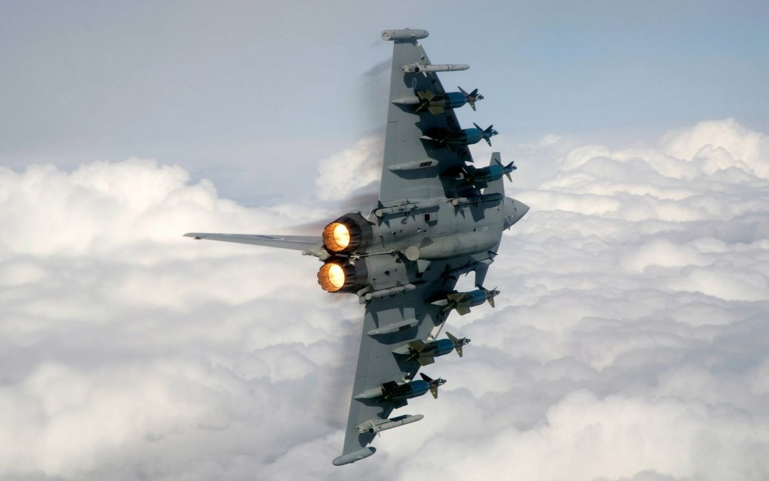 Aircraft military eurofighter typhoon wallpaper