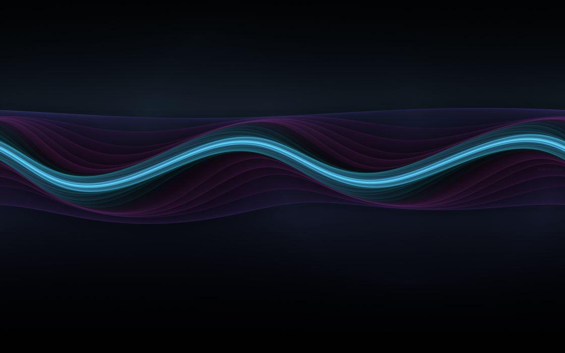 Vector lines wallpaper