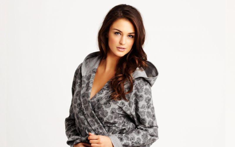 Lingerie brunettes women models lauren budd white background la senza lingerie wallpaper