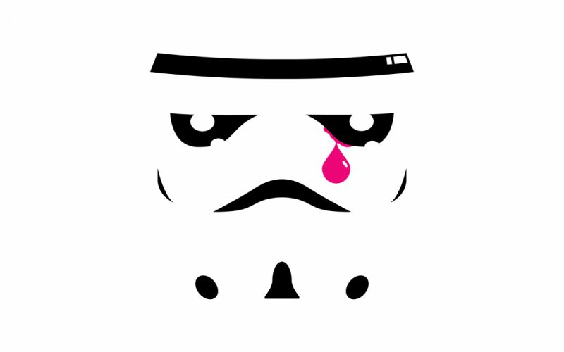 Star wars stormtroopers crying wallpaper