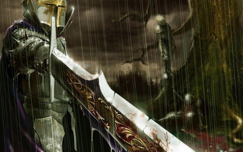 Rain knights swords wallpaper