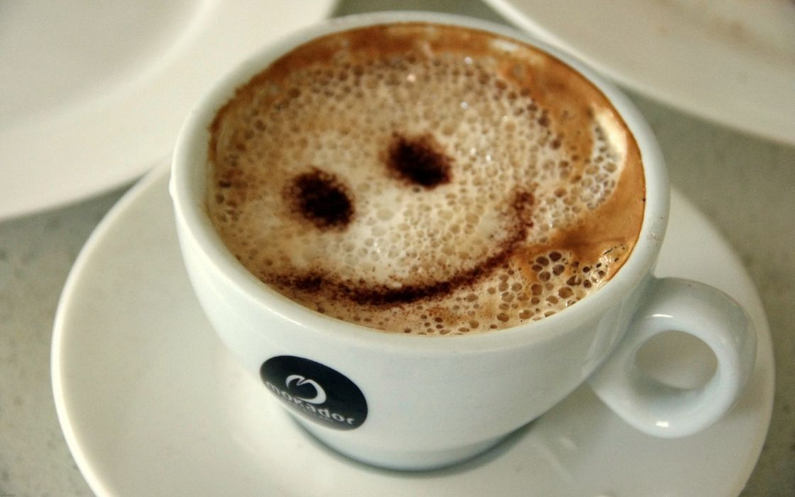 Coffee smiley smiley face coffee cups drinks wallpaper
