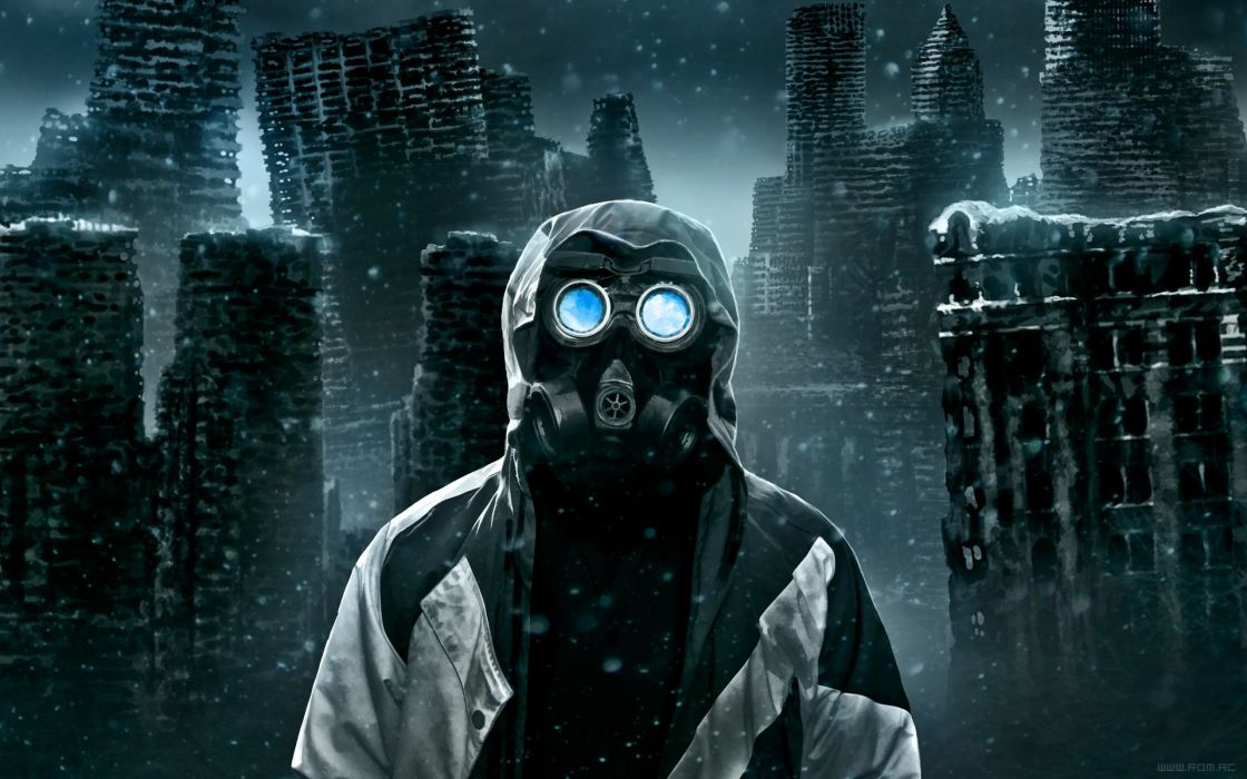 Gas masks fantasy art masks science fiction romantically apocalyptic vitaly s alexius the captain zee captein wallpaper