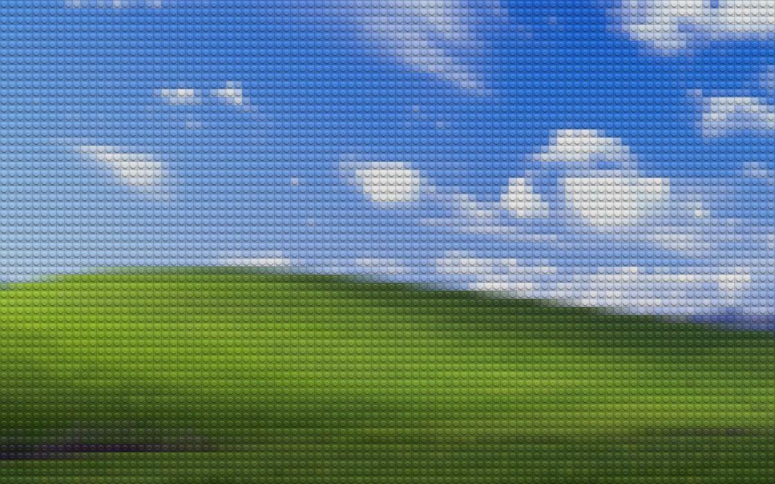 Lego bliss windows xp microsoft windows wallpaper