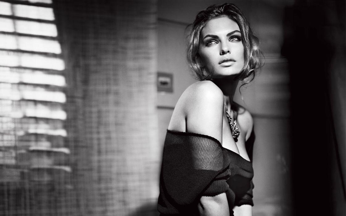 Women models fashion grayscale monochrome jewelry alyssa miller wallpaper