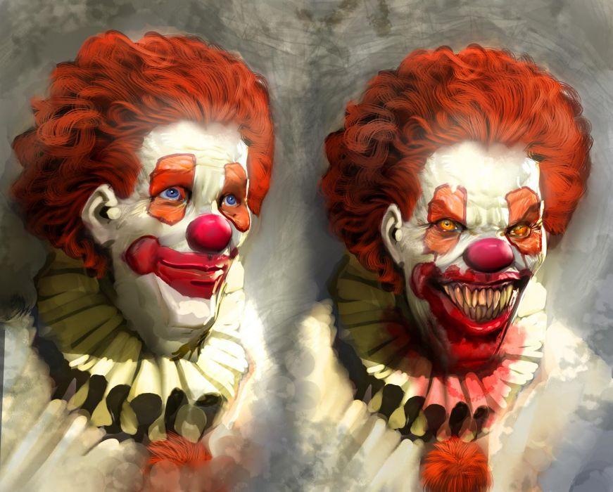 Clown stephen king wallpaper