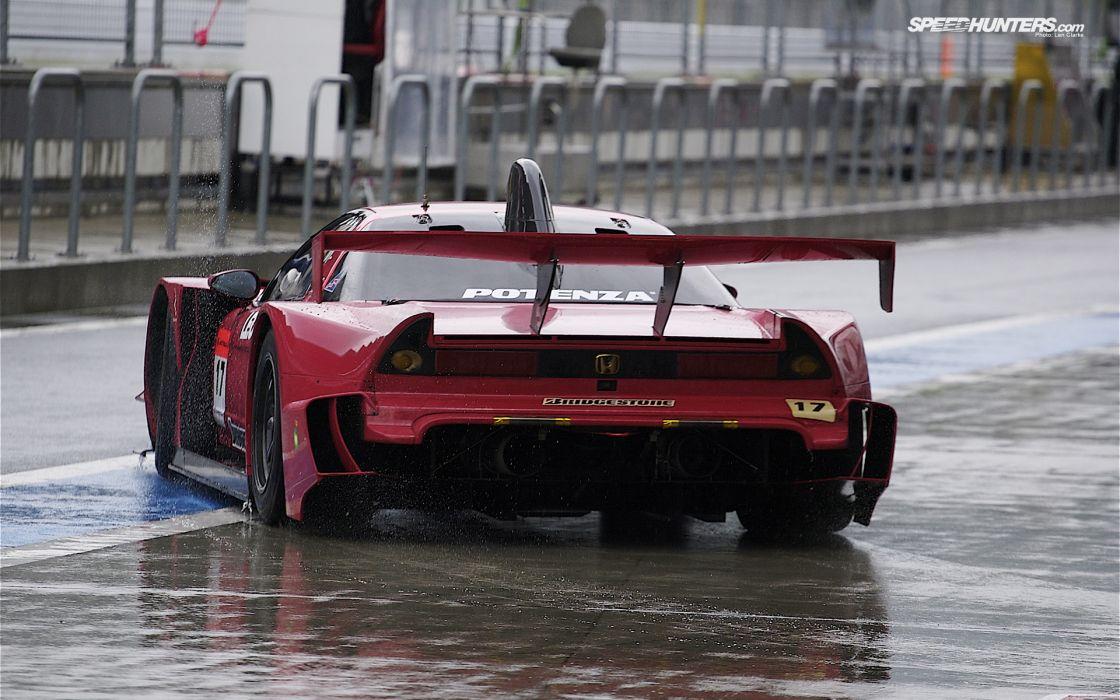 Rain honda cars honda nsx vehicles wallpaper