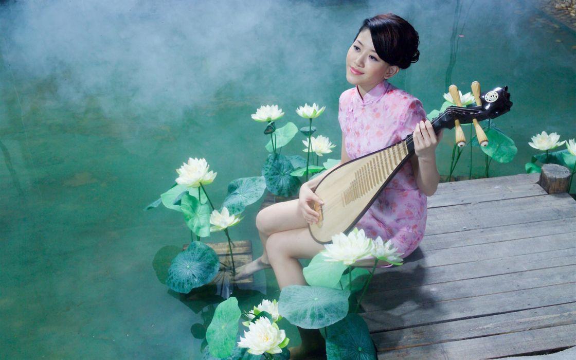 Water music asians wallpaper