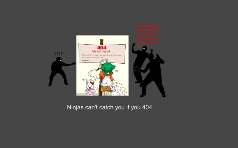 Ninjas cant catch you if yotsuba 404 yotsubato wallpaper