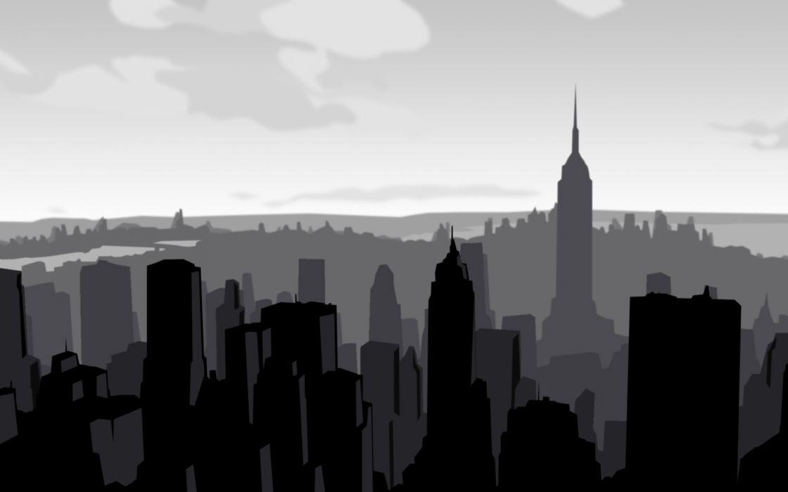 Skyline new york city wallpaper