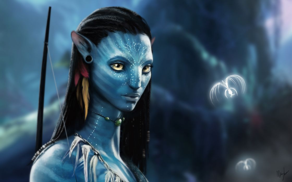 Movies avatar artwork wallpaper