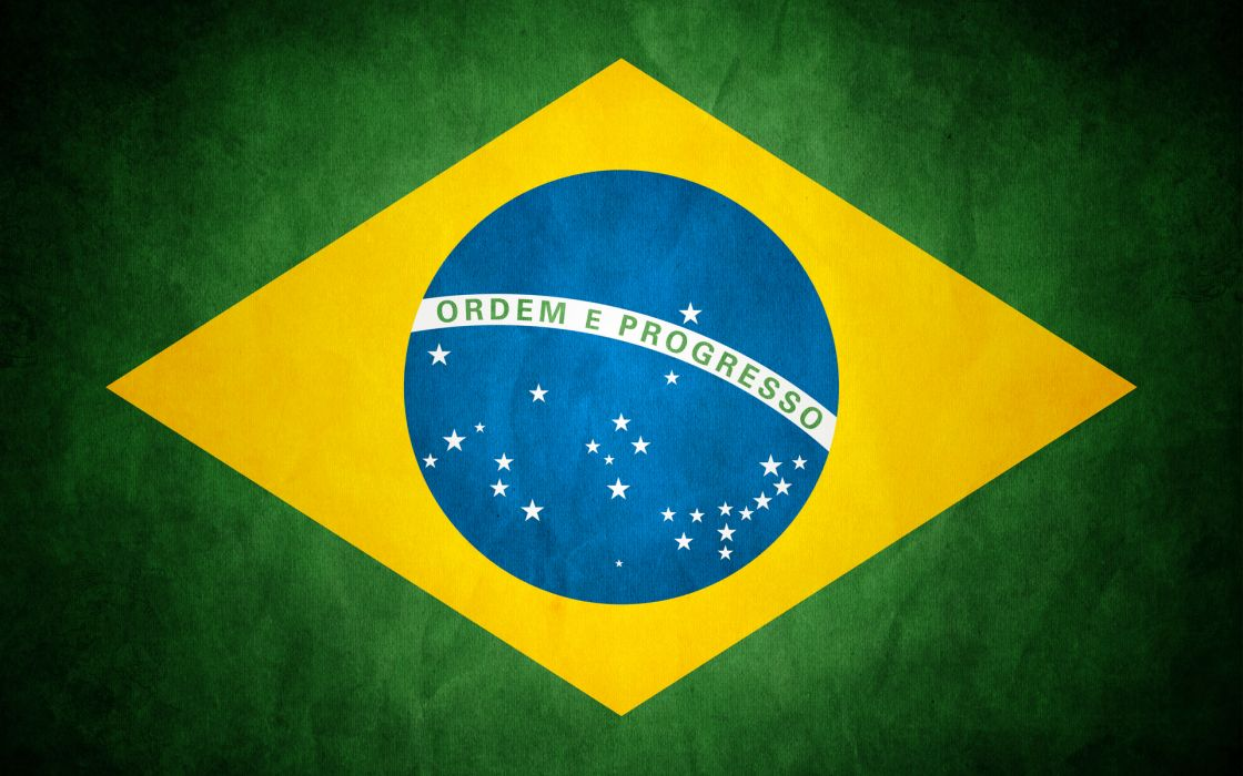Flags brazil wallpaper