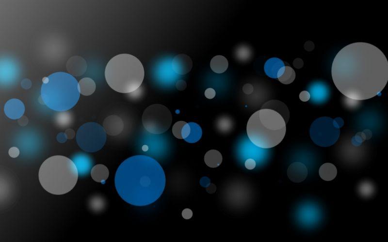 Abstract bokeh dots wallpaper