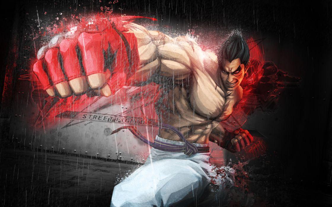 Tekken bosslogic kazuya mishima street fighter x tekken wallpaper