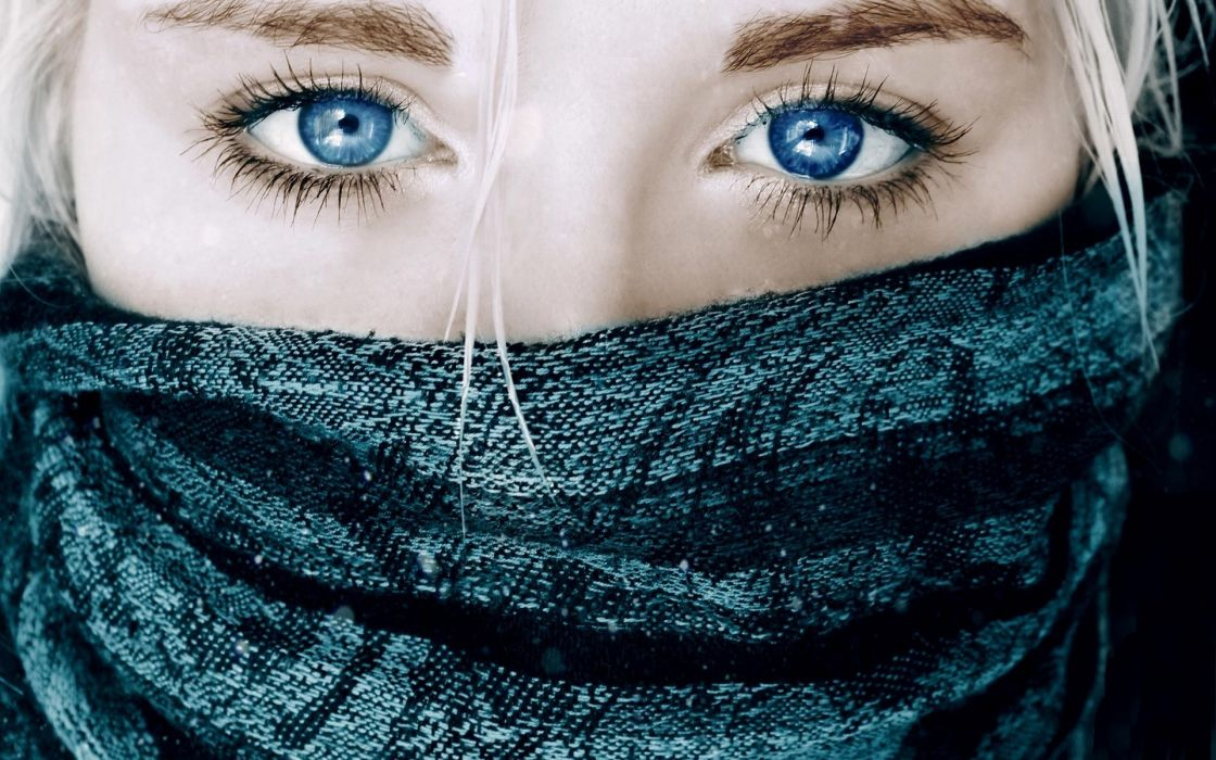 Women blue eyes wallpaper