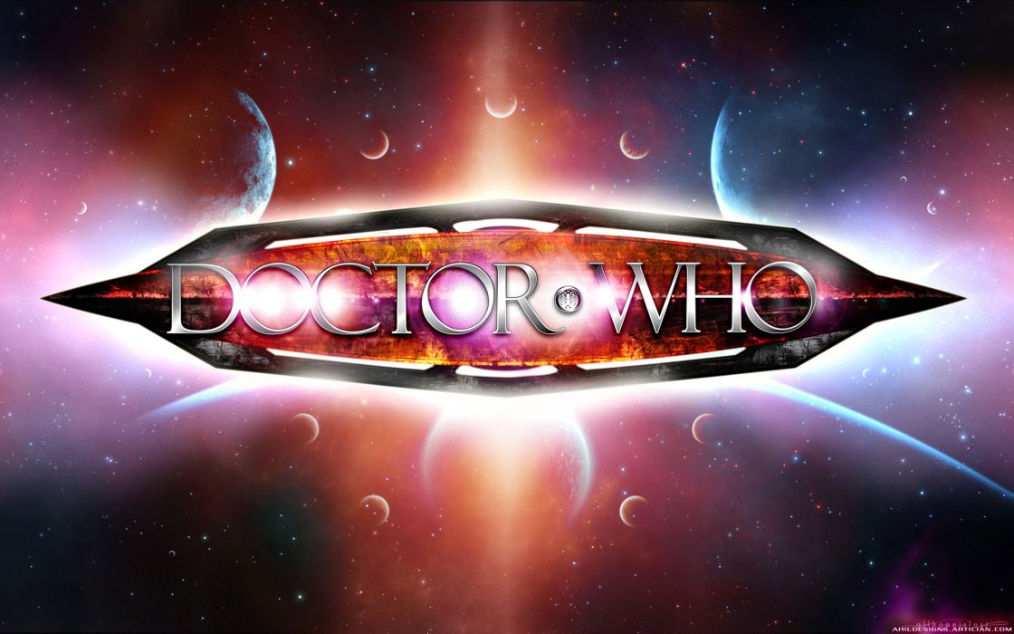 Doctor who space art wallpaper