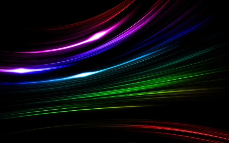 Abstract multicolor stripes wallpaper