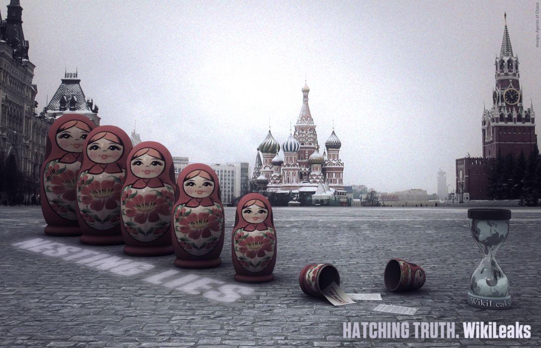 Matryoshka secret Wikileaks wallpaper