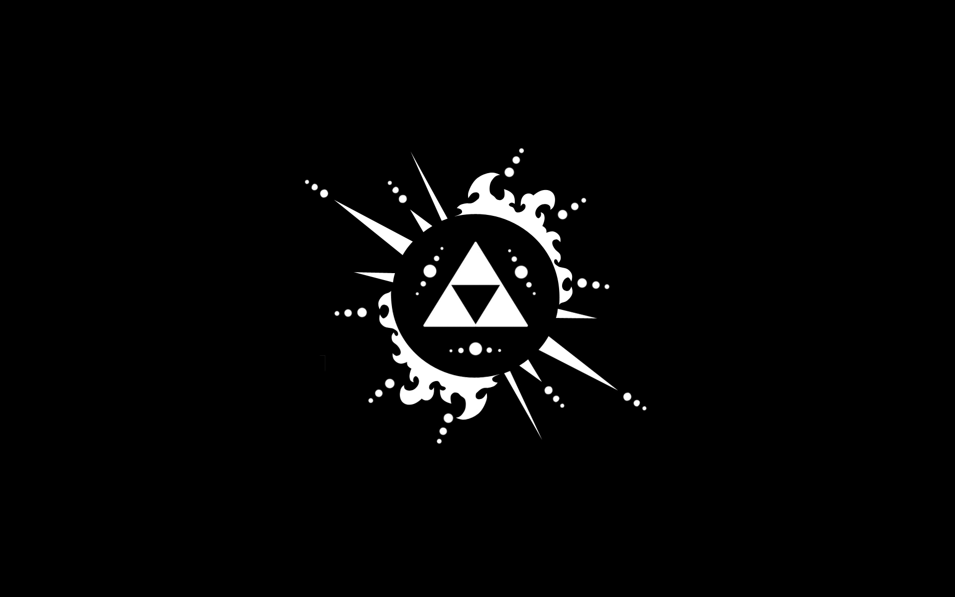 Triforce The Legend Of Zelda Wallpaper 1920x1200 14683