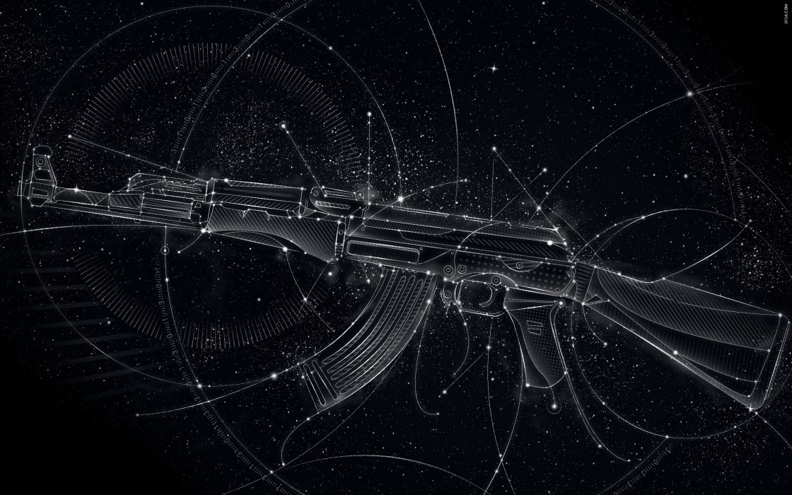 47 Automatic weapons wallpaper