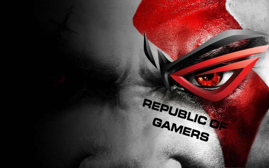 God of war asus gamers wallpaper