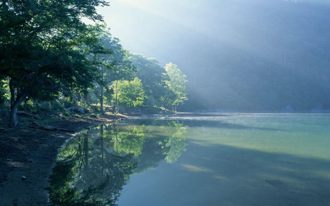 Nature lakes wallpaper