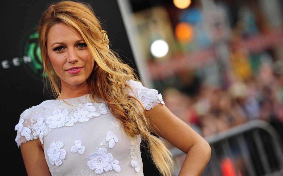 Blondes women actress blake lively wallpaper