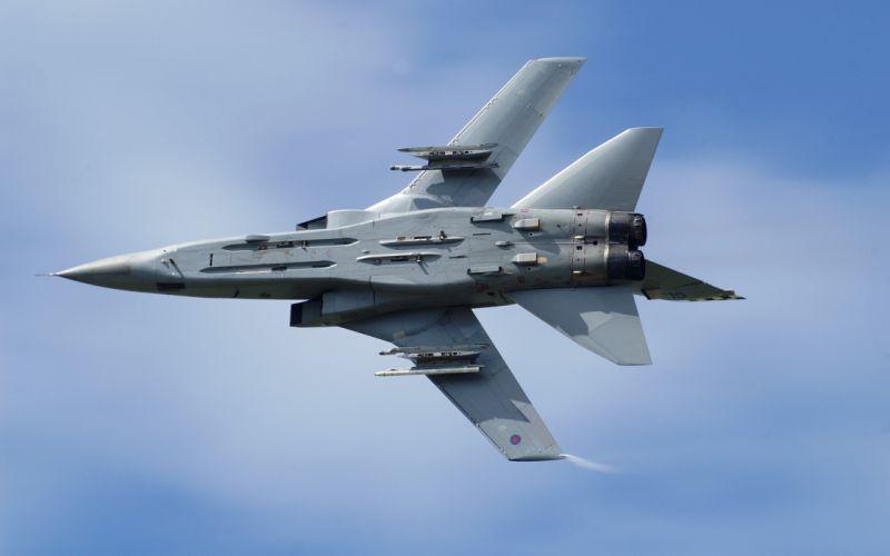 Clouds aircraft war military vehicles skyscapes panavia tornado wallpaper