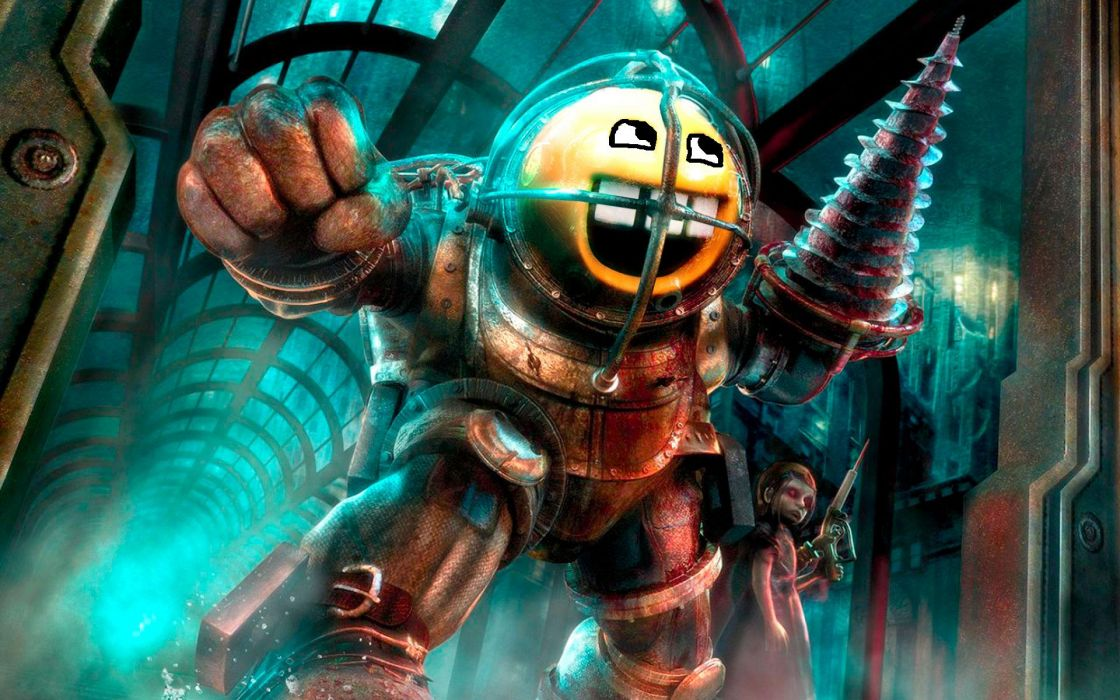 Bioshock awesome face wallpaper