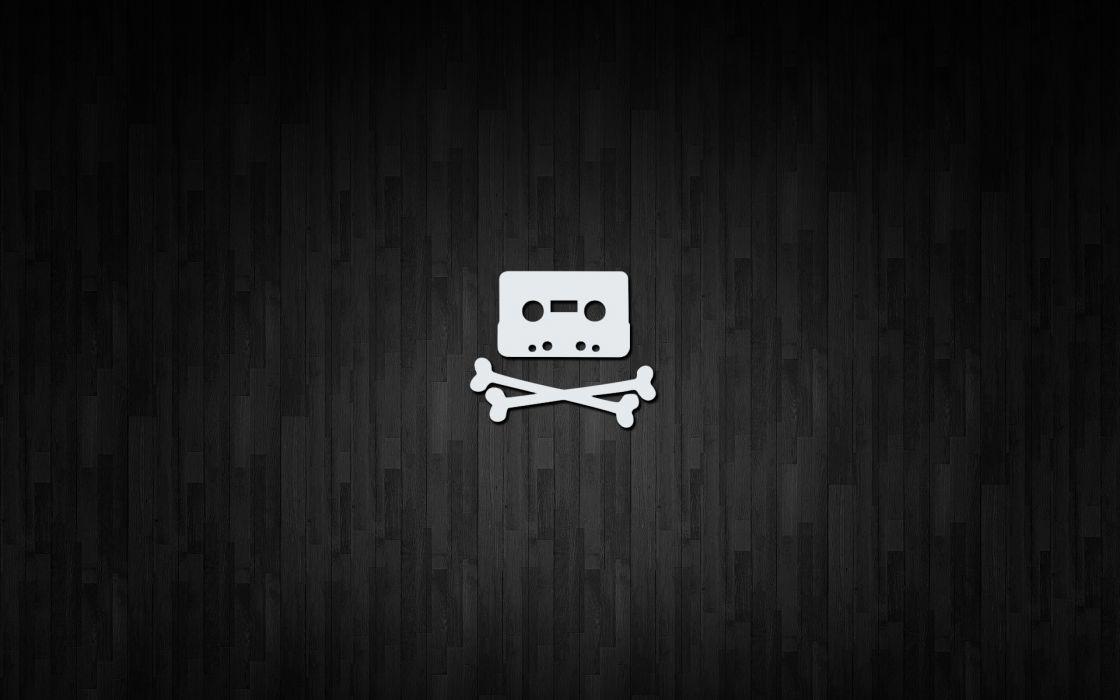 Minimalistic cassette the pirate bay wallpaper