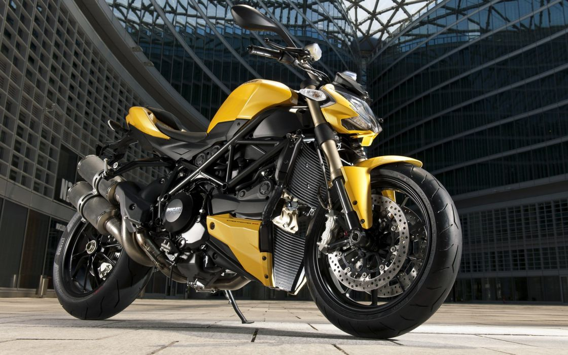 Street fighter moto ducati vehicles wallpaper