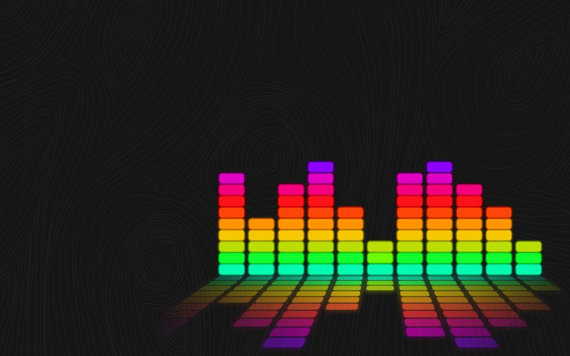 Music colors wallpaper