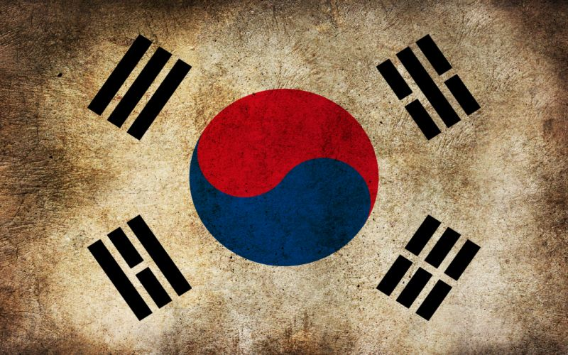 Flags korean korea south korea wallpaper