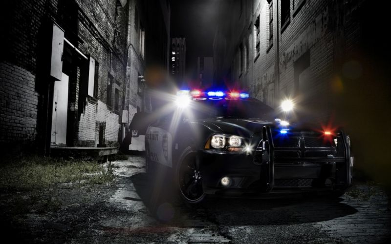 Lights cars police muscle cars dodge charger police cruiser wallpaper