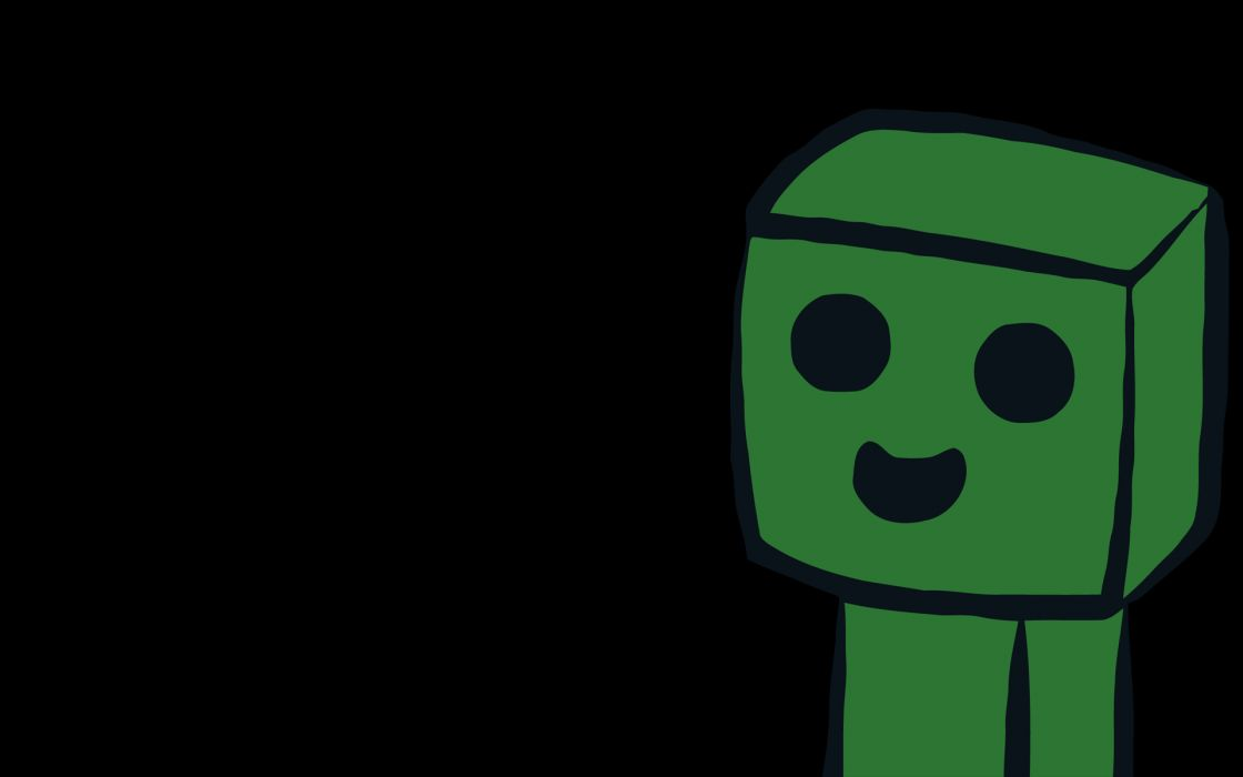 Creeper minecraft wallpaper
