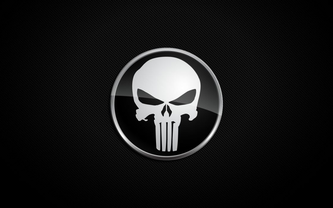 The punisher marvel comics logos wallpaper