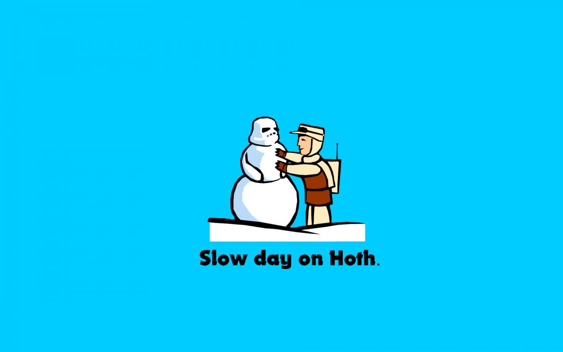 Star wars day slow hoth wallpaper