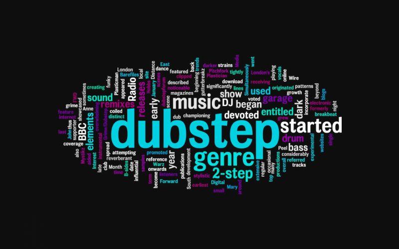 Music bass electric dubstep dj wallpaper