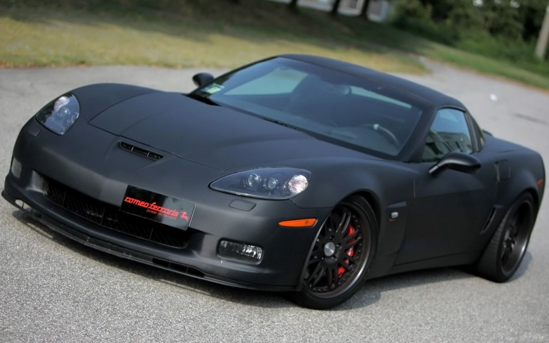 Cars chevrolet corvette wallpaper