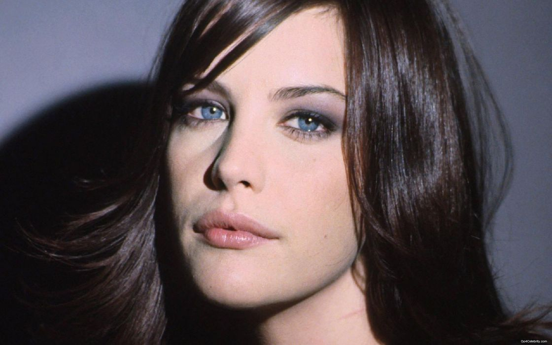 Wall1472873-brunettes women actress liv tyler faces wallpaper