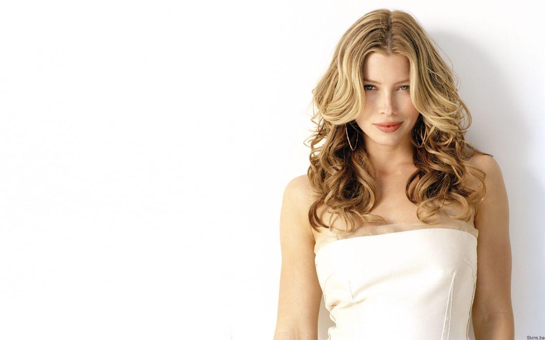 Women models people jessica biel wallpaper