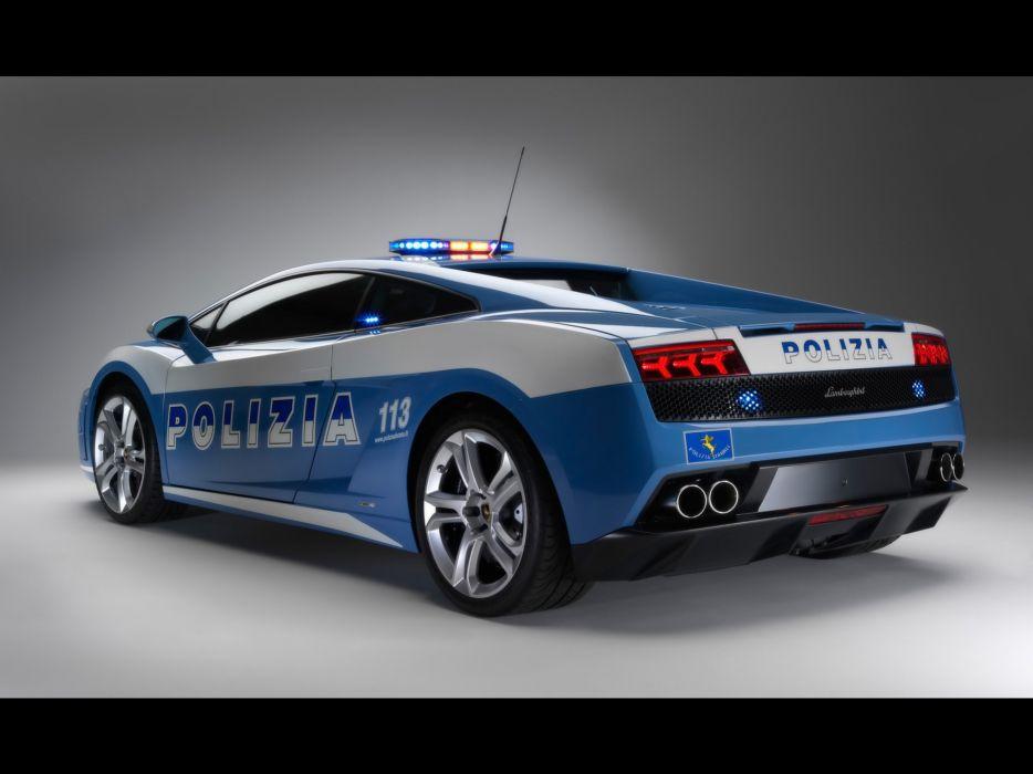 Cars Police Lamborghini Backview Vehicles Lamborghini Murcielago