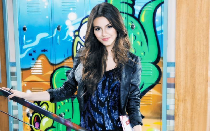 Brunettes women victoria justice wallpaper