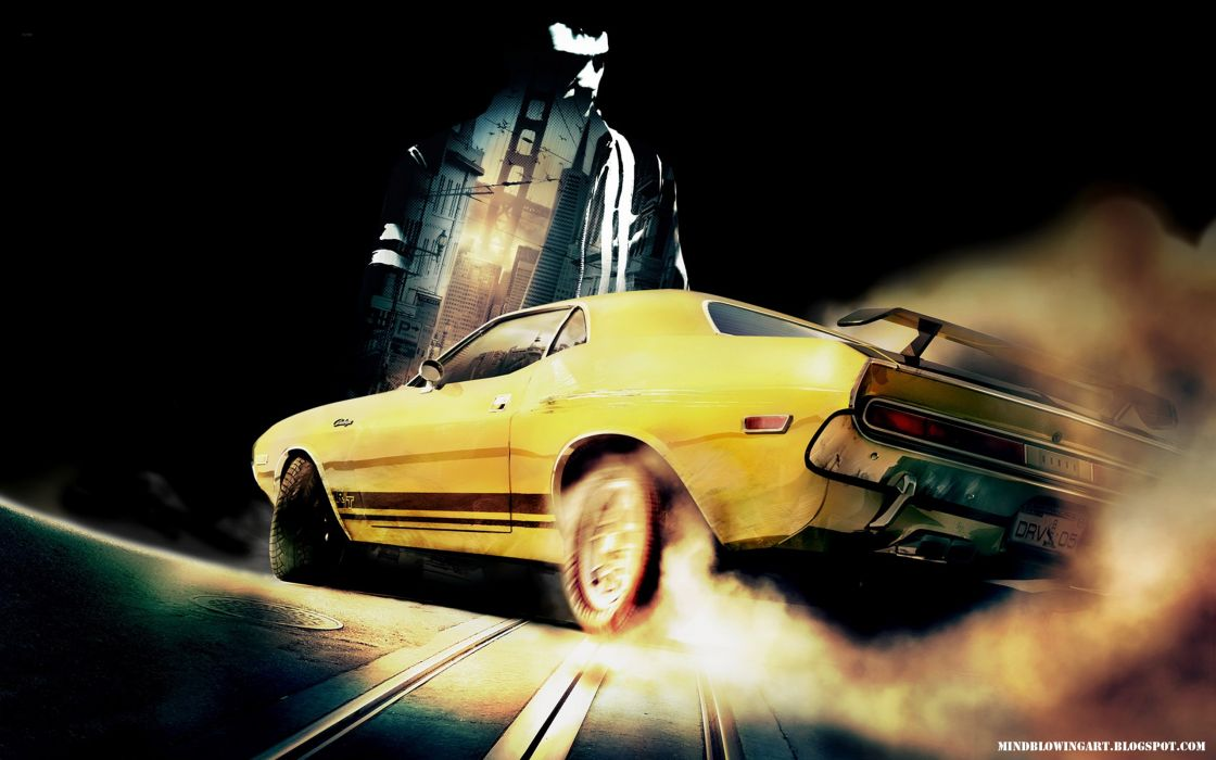 Video games cars driver san francisco wallpaper