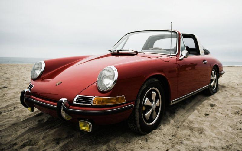 Beach cars porsche 911 wallpaper