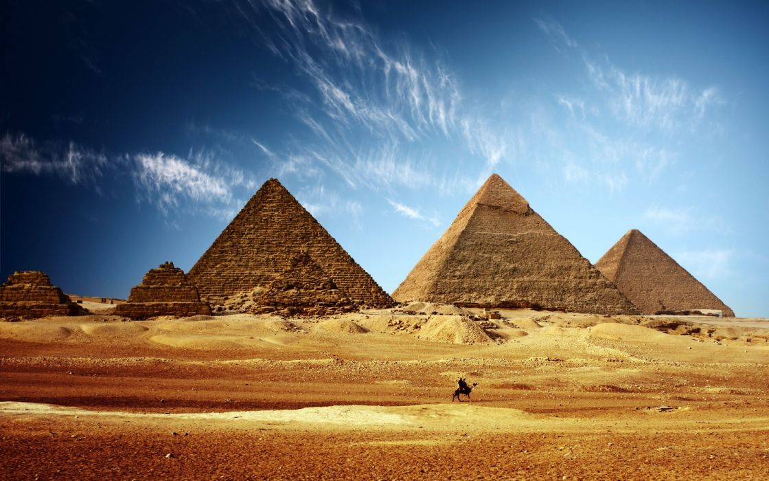 Landscapes cityscapes egypt pyramids wallpaper