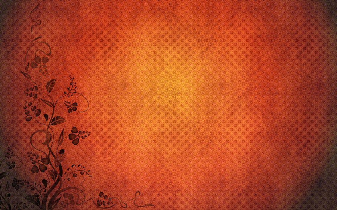 Minimalistic orange patterns textures simple background wallpaper