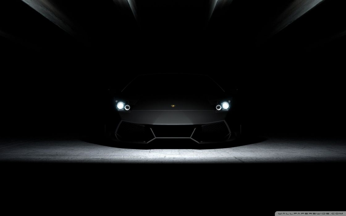 Dark cars lamborghini wallpaper
