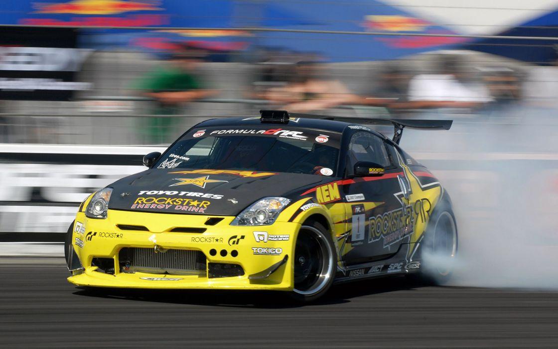 Cars drifting cars nissan race vehicles supercars nissan 350z wallpaper