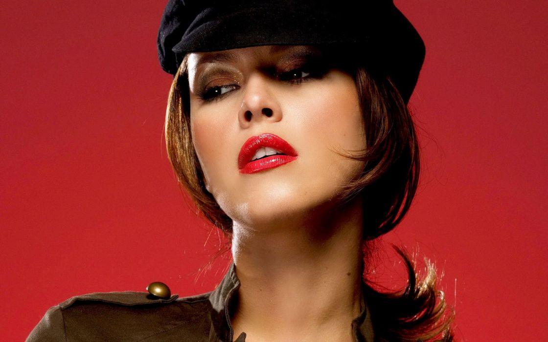 Uniforms alicia machado lipstick faces wallpaper